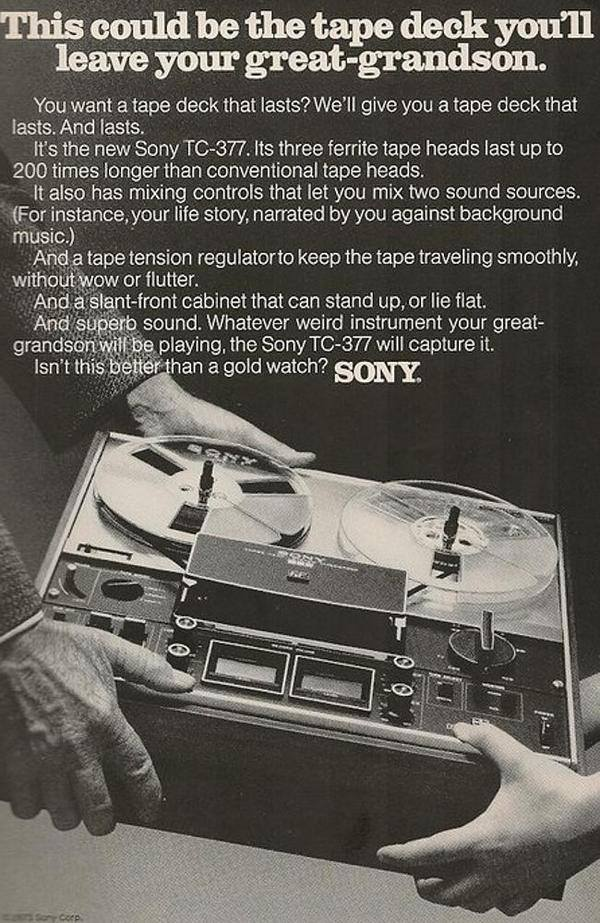 This could be the tape deck ...